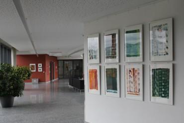 Juni 2011 Ausstellung in den Räumen des Klinikums am Steinenberg.